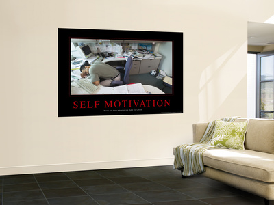 Self Motivation Wall Mural