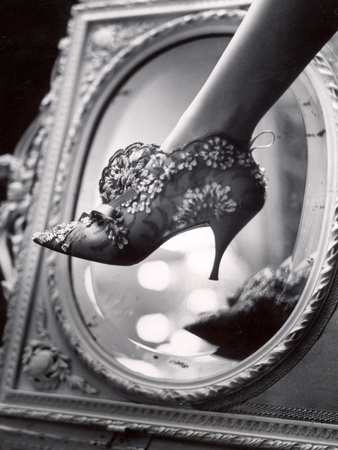 Evening Boot Designed by Roger Vivier For Dior Photographic Print by Paul Schutzer
