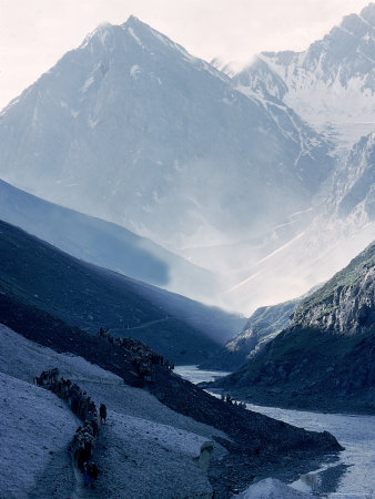 The Himalayas Photographic Print by James Burke