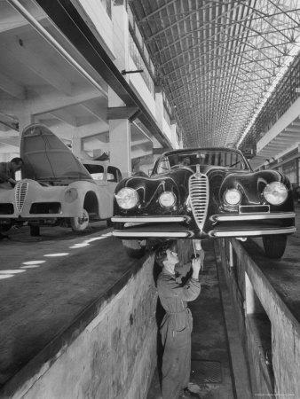 New Supersport Alfa Romeo Cars Photographic Print by Dmitri Kessel