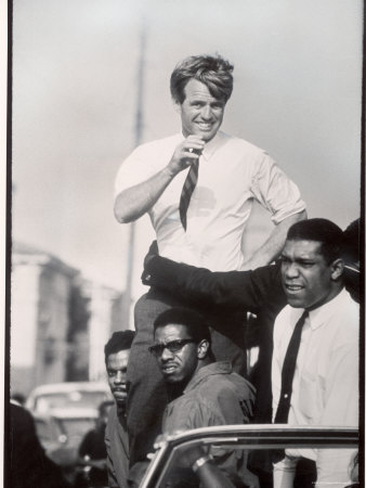 Senator Robert F. Kennedy Campaigning During the California Primary Photographic Print by Bill Eppridge