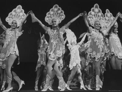 The Leningrad Music Hall Troupe, Performing in a Variety Show Photographic Print by Bill Eppridge