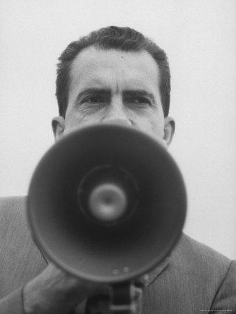 Vice President Richard Nixon Photographic Print by Joe Scherschel