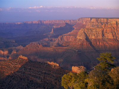 Scenic View of Grand Canyon National Park in Arizona Photographic Print