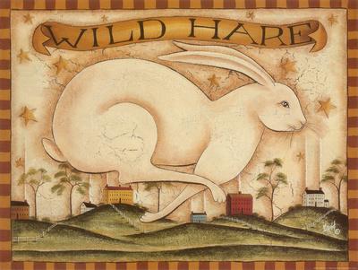 Wild Hare Impressão artística