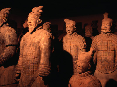 Terracotta Warriors of Xi'an, Xi'an, China Photographic Print