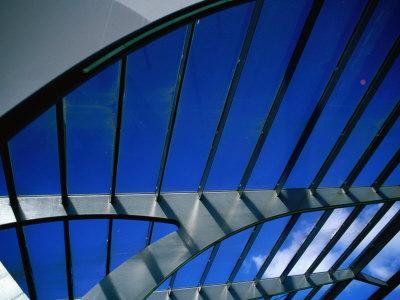 Glass and Steel Architecture of New Copenhagen, Copenhagen, Denmark Photographic Print by Martin Lladó