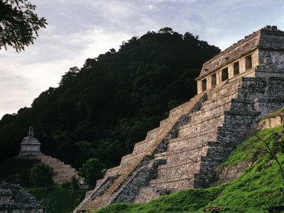 Palenque, Chiapas, Mexico Photographic Print by Kenneth Garrett
