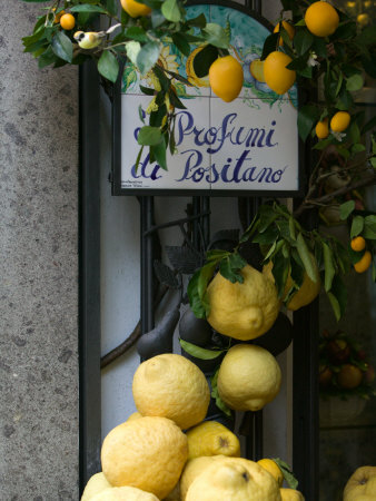 Lemons, Positano, Amalfi Coast, Campania, Italy Photographie