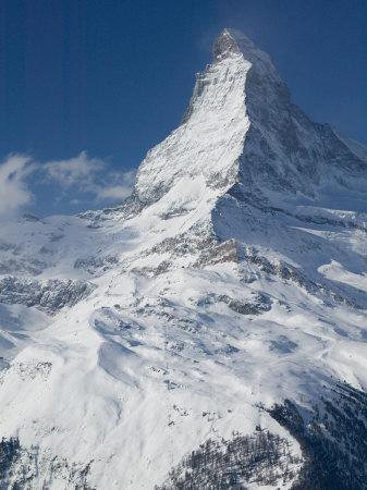 The Matterhorn, Zermatt, Valais, Wallis, Switzerland Photographic Print by Walter Bibikow