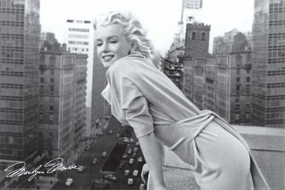 Marilyn Monroe - Balkon Plakat