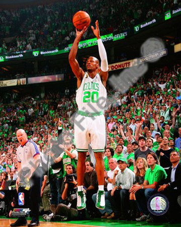 Ray Allen, Game Six of the 2008 NBA Finals Photo