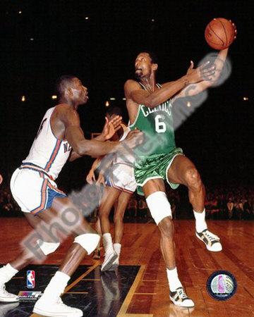 NBA Bill Russell 1967 , Boston Celtics Photo