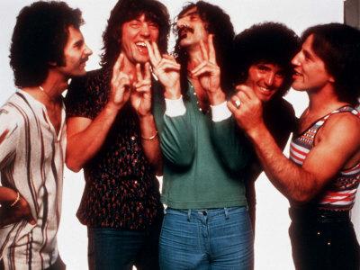 Frank Zappa and Grand Funk Fotografisk tryk