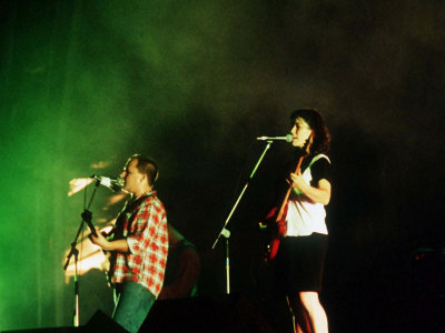 The Pixies at Reading Festival 1990 Fotografisk tryk