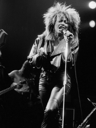 Tina Turner in Concert, 1985 Photographic Print