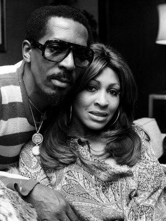 Ike and Tina Turner Fotografisk tryk