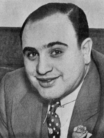 """Alphonse """"Scarface"""" Capone a Prominent Citizen of Chicago Photographic Print"""