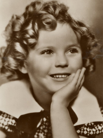 Shirley Temple American Child Star of the 1930s Photographic Print