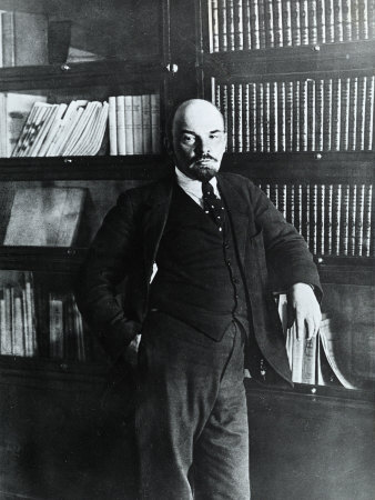 Portrait of Lenin in His Study Photographic Print