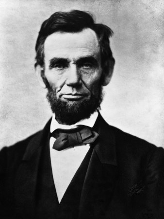 Abraham Lincoln, 1863 Photo