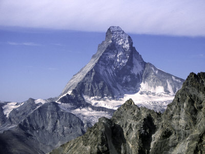 North Face of Matterhorn, Switzerland Premium Poster