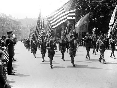 World War I Veteran's Parade Photo