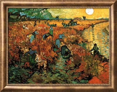 The Red Vineyard at Arles, c.1888 Poster by Vincent van Gogh