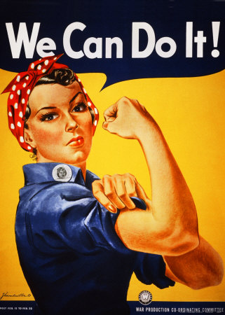 We Can Do It! (Rosie the Riveter) Reproduction d'art