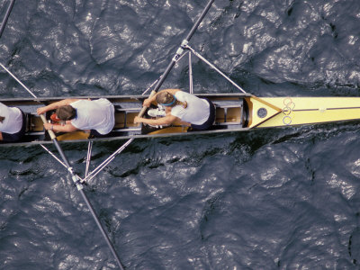 Rowing Shell in Montlake Cut, Seattle, Washington, USA Photographic Print by Stuart Westmoreland