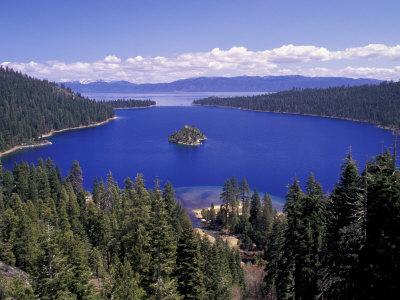Emerald Bay, Lake Tahoe, California, USA Photographic Print by Adam Jones