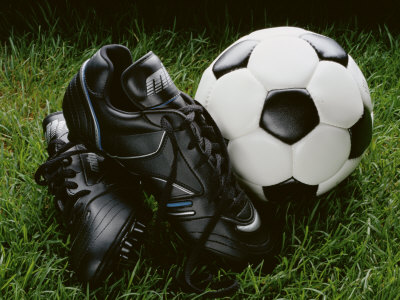 Soccer Still Life Photographic Print
