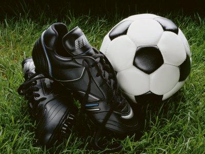 Soccer Still Life Photographic Print