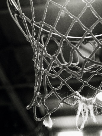 Close-up of a Basketball Net Photographie