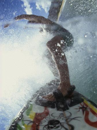 Man Wakeboarding Photographic Print