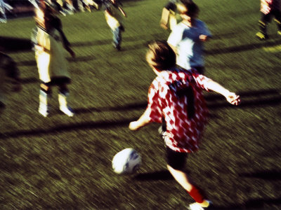 Youth Soccer Photographic Print