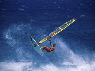 Windsurfing Photographic Print