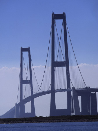 Great Belt Bridge, Denmark Photographic Print