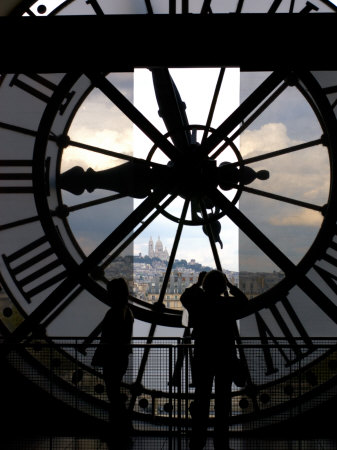 Musee d'Orsay's Clock Window, Paris, France Photographic Print by Lisa S. Engelbrecht