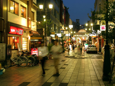 Evening in Asakusa District, Tokyo, Japan Photographic Print by Greg Elms