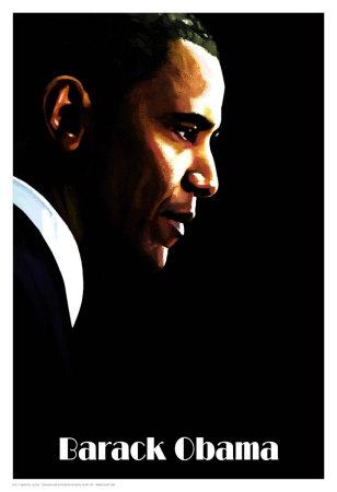 Barack Obama Prints by H. Abavista