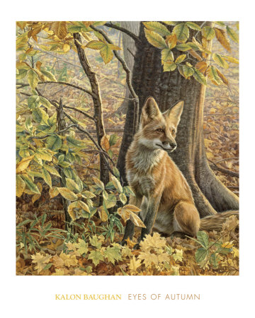 Eyes of Autumn Art Print