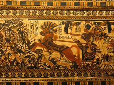 Painted Box, Tomb King Tutankhamun, Valley of the Kings, Egypt Fotoprint av Kenneth Garrett
