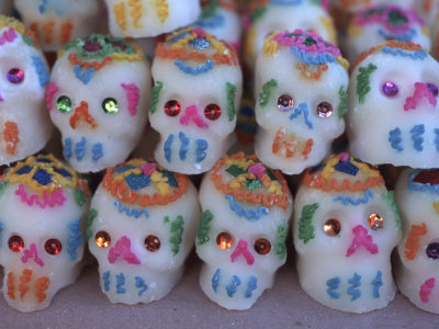 day of dead skull. Day of the Dead, Sugar Skull