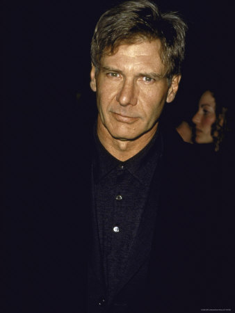 """Actor Harrison Ford at the Premiere of the Film """"The Devil's Own"""" Metal Print by Dave Allocca"""