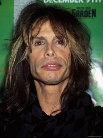 Musician Steven Tyler at Z-100 Radio Station's Jingle Ball Metal Print by Dave Allocca