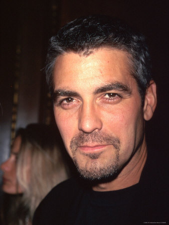 Actor George Clooney Metal Print by Dave Allocca