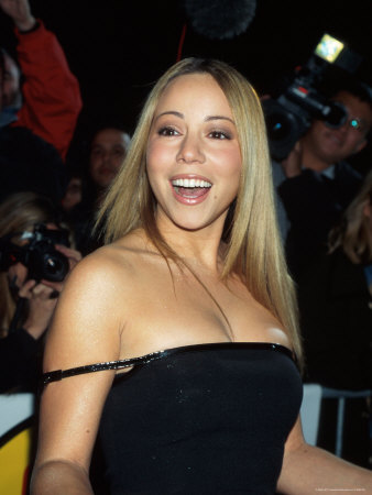 Singer Mariah Carey at Vh1 Fashion Awards Metal Print by Dave Allocca