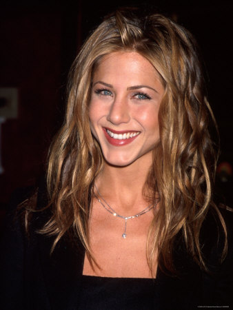 Actress Jennifer Aniston Metal Print by Dave Allocca