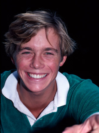 Actor Christopher Atkins Metal Print by Ann Clifford